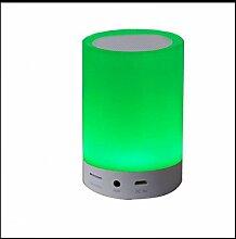 WOQU Bluetooth-Stereo-Lautsprecher Led-Lampe
