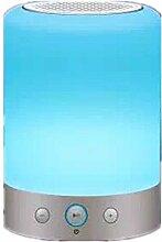 WOQU Modefarbe Led-Lampe Nachthimmel Bluetooth Lautsprecher
