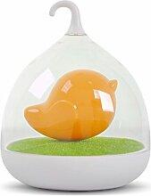 WOQU Vogelkäfig-Lampe Led Kreatives Geschenk Licht Paar Garten Spaziergang Camping Lampe , Orange