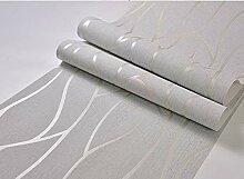 WORINA Abstrakte Cruve-Streifentapete Für Wände