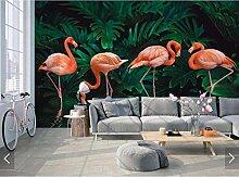WORINA Tropische Flamingo Tapete Wandbild 3D