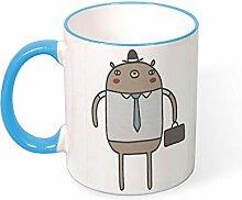 Working Bear Travel Best Funny Coffee Mug