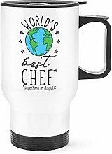 World's Best Chef Reise Becher Tasse mit Griff