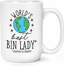 World's Best Mülleimer Damen 15oz Groß