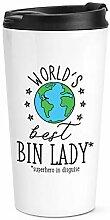 World's Best Mülleimer Damen Reise Becher