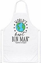 World's Best Mülleimer Mann Koch Schürze