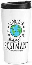 World's Best Postbote Reise Becher Tasse