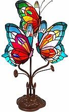 World Art Schmetterling Nachttischlampen im