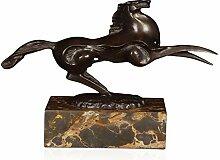 World Art TW60049 Bronze Skulptur Kleines Pferd