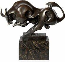 World Art TW60050 Bronze Skulptur Kleine Stier