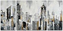 World Art TWAS433TX1 Stadtlandschaft modern acryl
