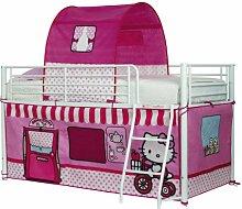 Worlds Apart 490HEK01 Hello Kitty Hochbett Vorhang Se