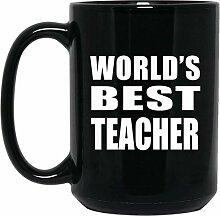 Worlds Best Teacher - 15 Oz Coffee Mug