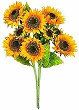 Worth importen 1272Spray Künstliche Sonnenblume, Kopf, 63,5cm gelb