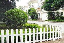 Worth Kunststoff Garten-Zaun im Einfassung Tore guardrailing Schutzhülle Zäune # 3184