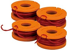WORX WA0047 4-Pack Replacement Trimmer Line for