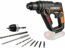 Worx WX390.9 3-in-1 H3 Bohrhammerbohrer, 18 V, 20