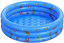 WOSNN Kinder Aufblasbarer Pool, Aufblasbares