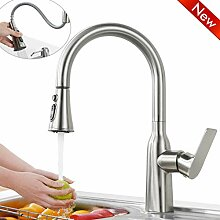 WOWOW Wasserhahn Küche Ausziehbare Armatur 360°
