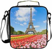 WowPrint Isolierte Lunchtasche Paris Eiffelturm