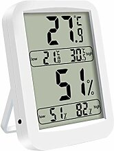 WOXIWANNI Digitales Hygrometer-Thermometer –