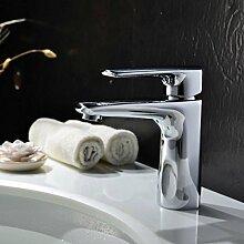 WP- All-Kupfer-Becken Wasserhahn heißen und kalten Wasserhahn Waschbecken Wasserhahn Bad Wasserhahn