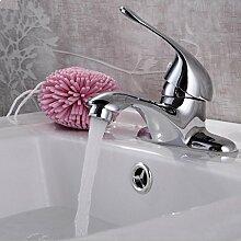 WP- All-Kupfer-Doppelwaschbecken Wasserhahn Duscharmatur mit warmen und kalten Wasserhahn