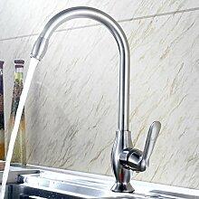WP- Bleifrei - Edelstahl kitchenfaucet heißen und kalten Waschbecken Hahn kann rotierenden Wasserhahn sein