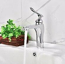 WP- Die neue qualitativ hochwertige Kupfer Waschbecken heißes und kaltes Wasser Becken Einlochmontage Wasserhahn