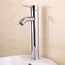 WP- Erhöhter Wasserhahn heißen und kalten Single-Loch-Waschtisch Waschbecken Waschbecken Wasserhahn