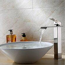 WP- Mode High-End-Ware Centerset antike heiß und einziges Loch Kupfer Armaturen Persönlichkeit Badarmaturen Waschbecken Edelstahl Mixing