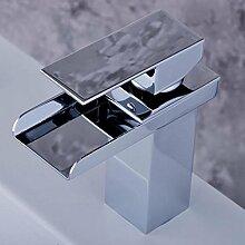 WP- Warme und kalte Dual-Use-Mode und langlebigem Edelstahl Wasserhahn all-Kupfer-Hahn Handwaschbecken