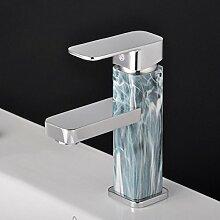 WP- Warme und kalte Wasserhahn Bad Waschbecken Einzel - Loch kreative Wasserhahn