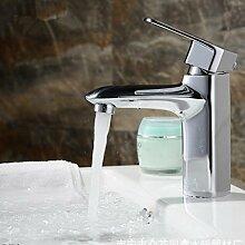 WP- Waschbecken mit warmen und kalten Wasserhahn High - End Waschbecken voll - Kupfer Wasserhahn