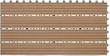 WPC Terrassenfliesen 1 Stück Bodenfliesen