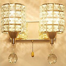 WQ Kristall Wandleuchte, LED Kreative Wandlampe,