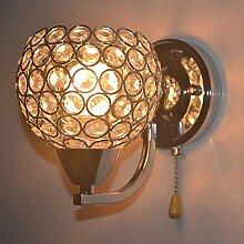 WQ LED Kreative Wandlampe, Moderne Kristall