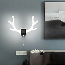 WQ LED Moderne Wandleuchte, LED Metall Wandlampe,