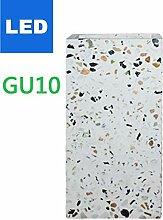 WQ LED Wandleuchte,LED-GU10,Schalter,2×2W