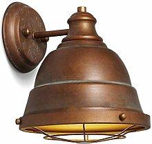 WQ Vintage Industrie Wandleuchte Rustikale