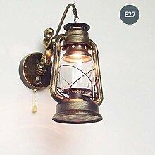 WQ Vintage Wandlampe• Metall Wandlampe• Mit