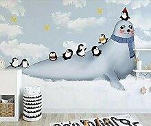 Wqavten 3D Tapete Kinder Babyzimmer Fototapete