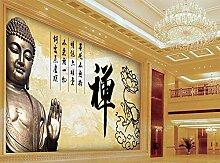 wqavten 3D tapete VintageFototapete Buddha