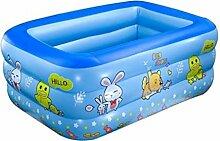 WQEQ Family Pool aufblasbares Kinder-Planschbecken