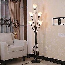 WQRTT® Floor Lamps/Torchieres/Stehleuchten Indoor Light Glass Einfache Moderne Couchtisch Schlafzimmer Wohnzimmer Vertikal Dekoration Kunst Boden Lichter , white light , 5w