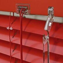 WR-Design Alu Jalousie Rot - Breite 50 bis 240 cm