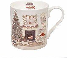 Wrendale Designs Sally Swannell Weihnachts-Tasse