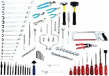 Wright Werkzeug 166Starter Set Werkzeuge nur, Werkzeugkoffen Ratschenkasten