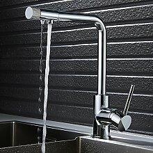Wrighteu 3 Wege Wasserhahn Küchenarmatur Mit