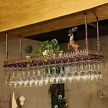 WRJJ Industrielle Vintage Weinglashalter hängen
